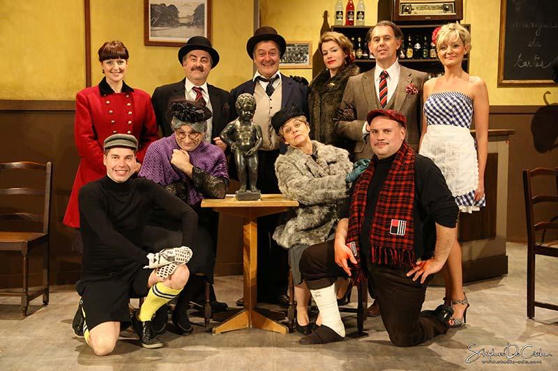 Théâtre Marignan : l'équipe