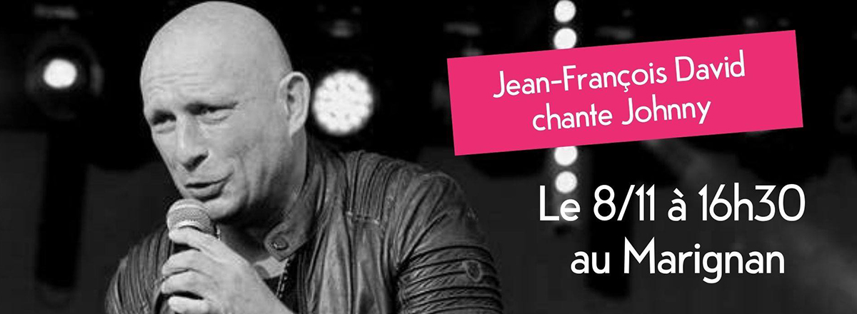Jean-François David chante Johnny